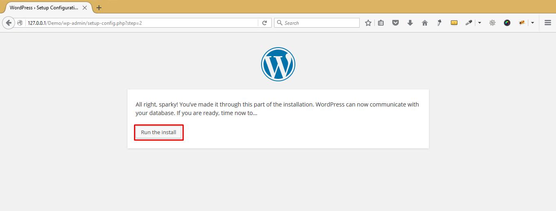 xampp_wordpress installation_2