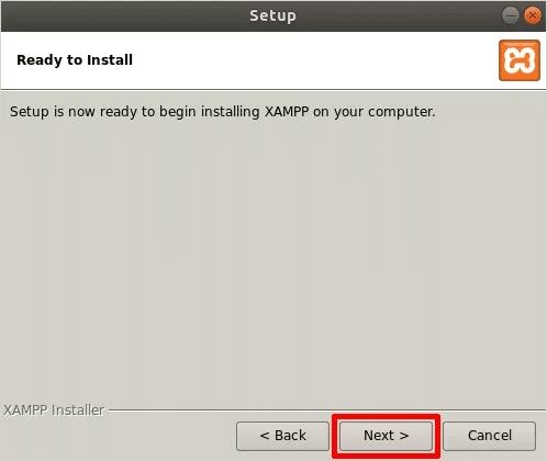 Cómo instalar XAMPP en Linux Listo para instalar