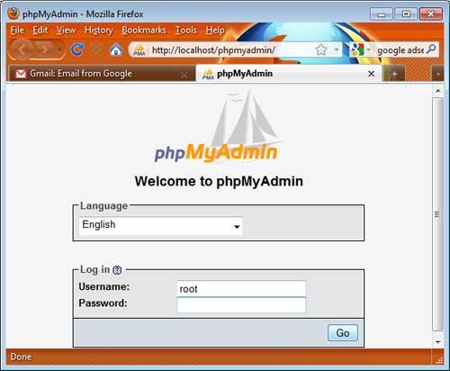 Instalar XAMPP en Mac phpMyAdmin
